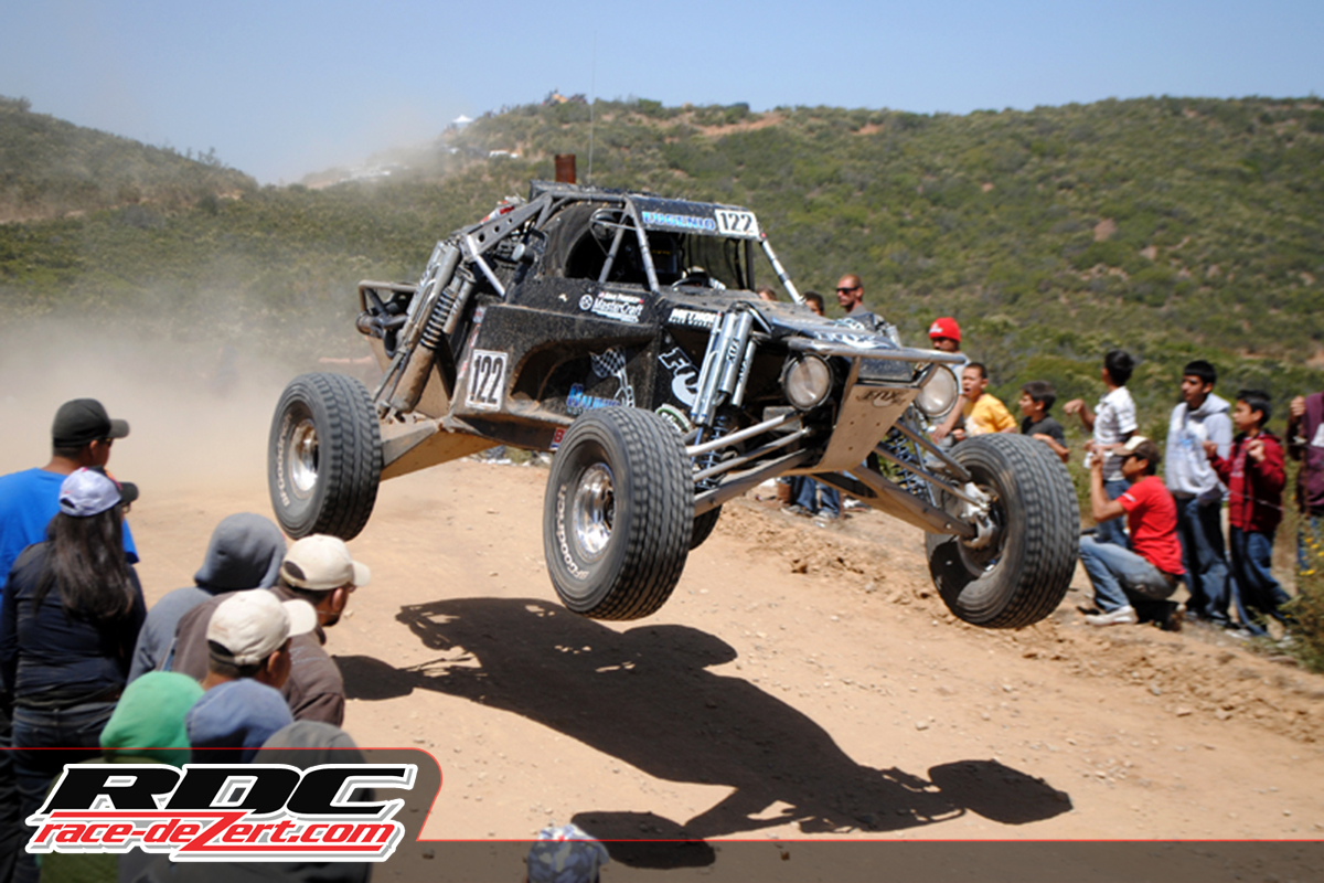 Eugenio had instant success taking a Baja 500 win right out of the box in Class 1