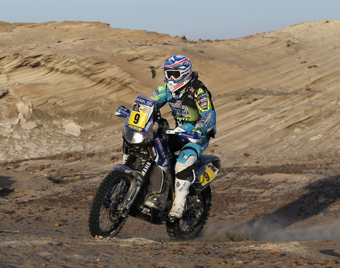 Olivier Pain (FRA) is now the top gun under the YAMAHA tent, now that Cyril has moved on. Photo courtesy of YAMAHA