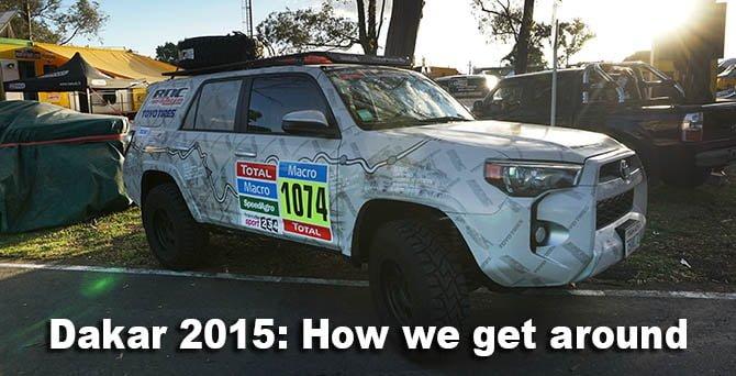 RDC Dakar 2014 Toyota 4Runner SLR