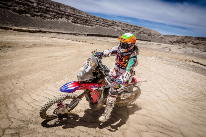 Dakar 2015 Stage 10 Laia Sanz PR