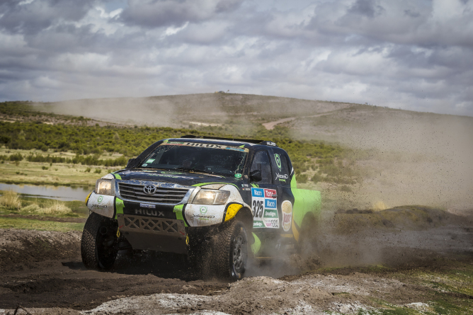 Dakar 2015 Stage 7-8 Yazeed PR1