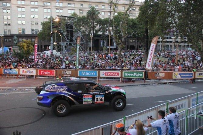 El martillo Dakar PR