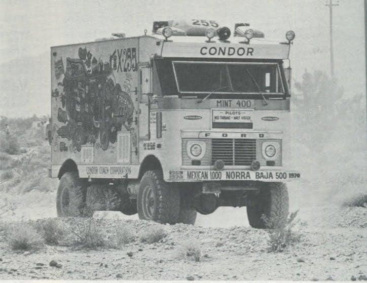 Vintage Baja Racing Unusual Cars