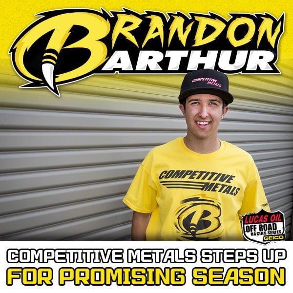 Brandon Arthur Debut LOORRS PR