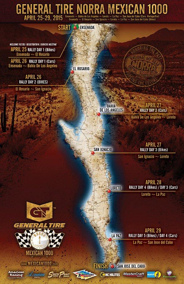 Norra 1000 Map PR