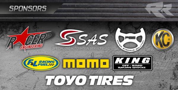 Roberts Racing LOORRS Sponsors PR