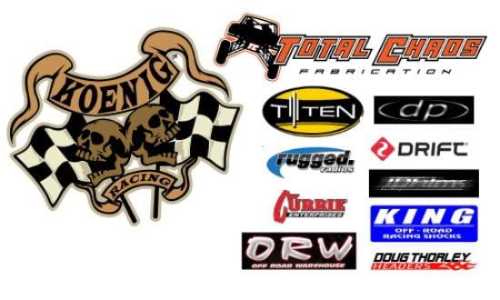 Koeng Racing Sponsors Footer PR
