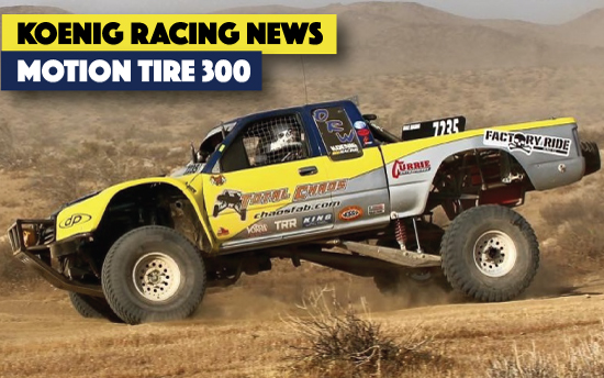 Koenig Racing Motion Tire Ridgecrest PR