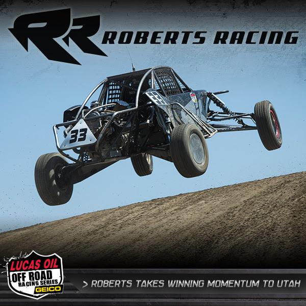 Roberts Racing LOORRS UTAH Pre PR
