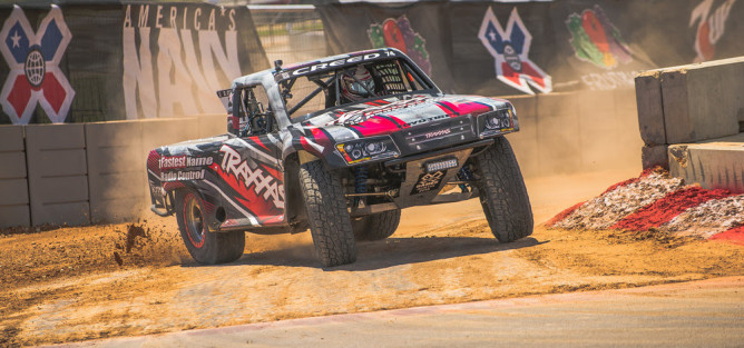 Austin, TX - June 7, 2015 - Circuit of The Americas: Sheldon Creed competing in Rally Car Racing Final at X Games Austin 2015(Photo by Nick Guise-Smith / ESPN Images)