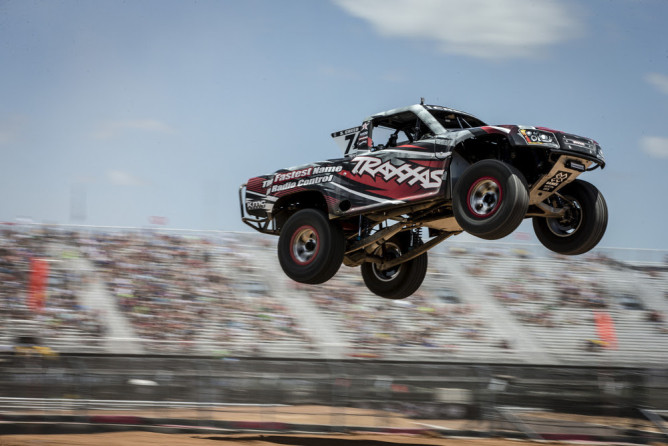 Austin, TX - June 7, 2015 - Circuit of the Americas: Sheldon Creed competing in Off Road Truck Racing round one during X Games Austin 2015(Photo by Christian Pondella / ESPN Images)
