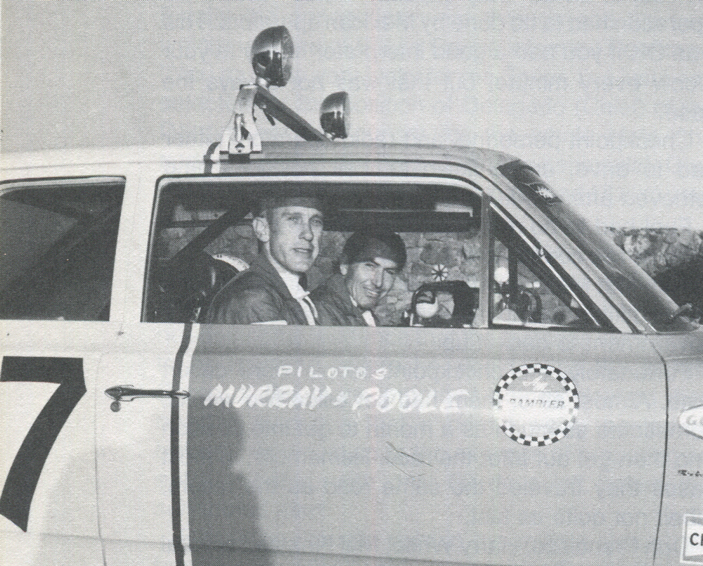 Murray and Poole, the record holders, '68 MEXICAN 1000.