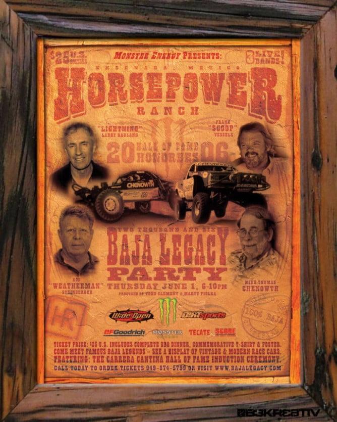 2015 Baja Legacy PR7