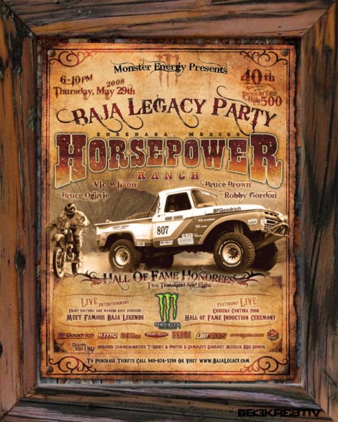 2015 Baja Legacy PR8