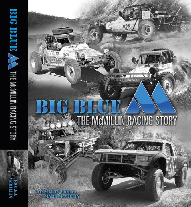 Big Blue M Book Cover Baja Legacy PR