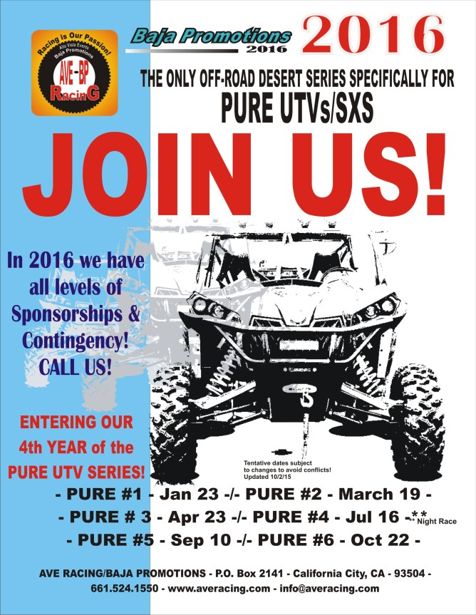 AVE Racing 2016 UTV Flyer PR
