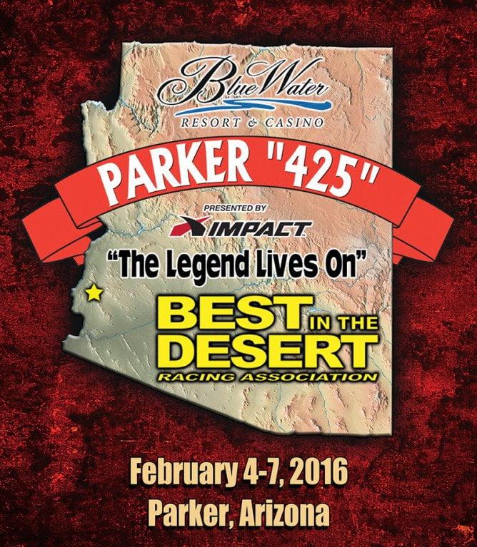 Parker 425 2016 2 Day Format