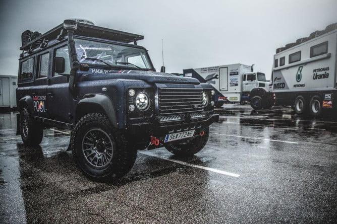 Reb Bull Land Rover Dakar 2016 PR