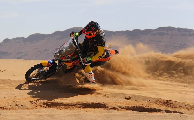 Toby Price Factory KTM Photo by Carlos Jimeno