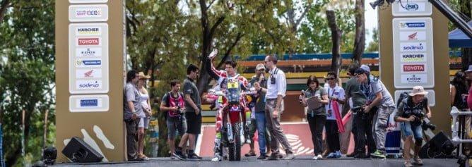 Dakar 2016 Team HRC Prologue Header PR