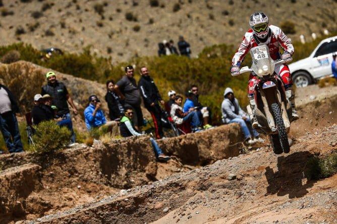 48 BRABEC RICKY (usa) HONDA action during the Dakar 2016 Argentina Bolivia, Etape 4 - Stage 4, Jujuy - Jujuy, on January 6, 2016 in Argentina - Photo Andre Lavadinho / ARTWOLRD