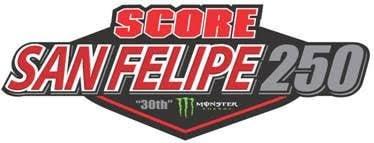 2016 SCORE San Felipe Logo PR