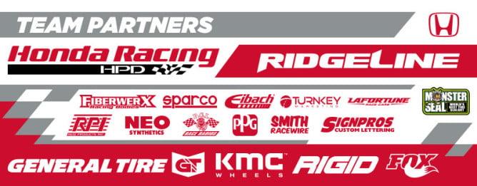 2016 Honda Sponsors PR