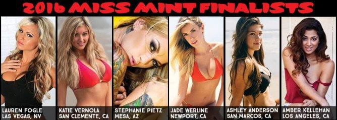 2016 Miss Mint Finalists PR