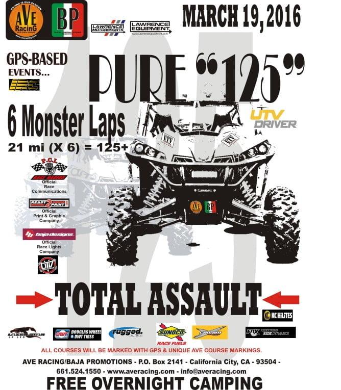 Ave Racing 2015 Pure 125 PR