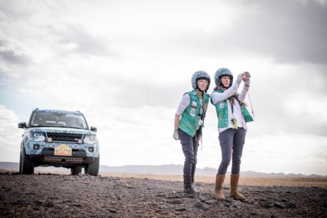 Rally Gazelles Karen Hoehn Selfie PR