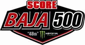 2016 Score Baja 500 Logo