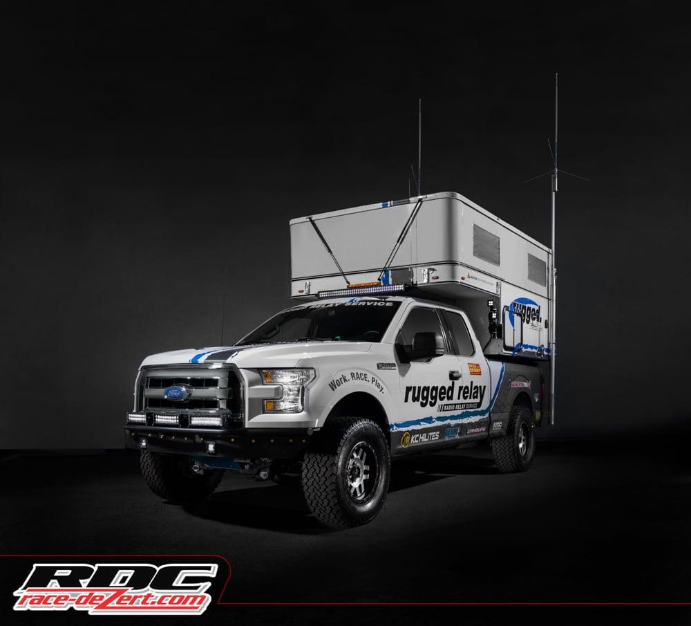 Rugged Radios Relay Truck