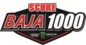 SCORE Baja 1000 Logo 2016