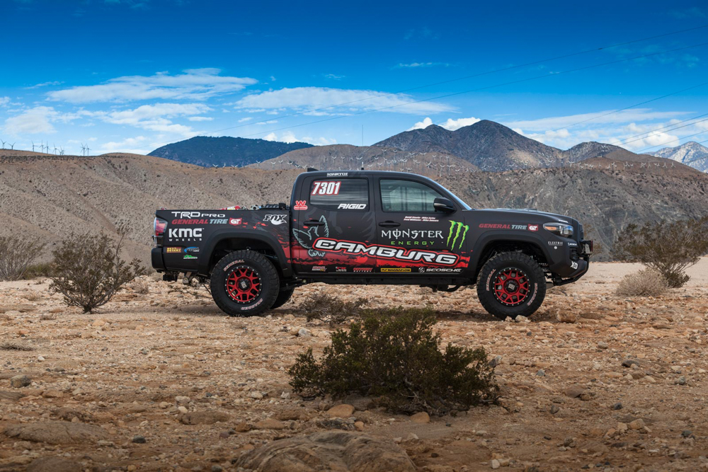 Toyota S Tacoma Trd Pro Race Truck Revealed At Sema To