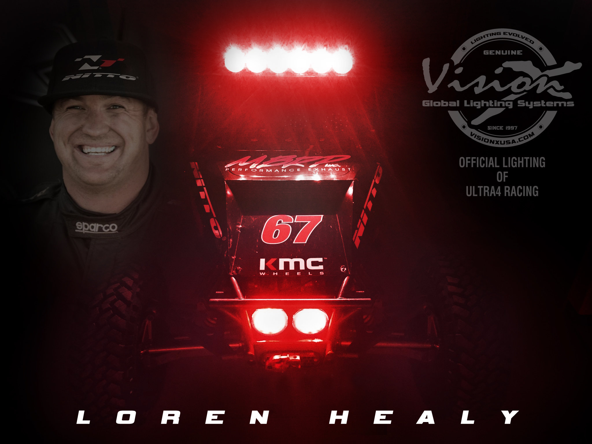 u201cAs a 5-Time ULTRA4 Racing Ch&ion and Two-Time King of the Hammers Winner Loren is looking to grow winning synergies for 2017.  sc 1 st  race-deZert.com & Two-Time King of the Hammers Winner Loren Healy Joins Vision X ... azcodes.com