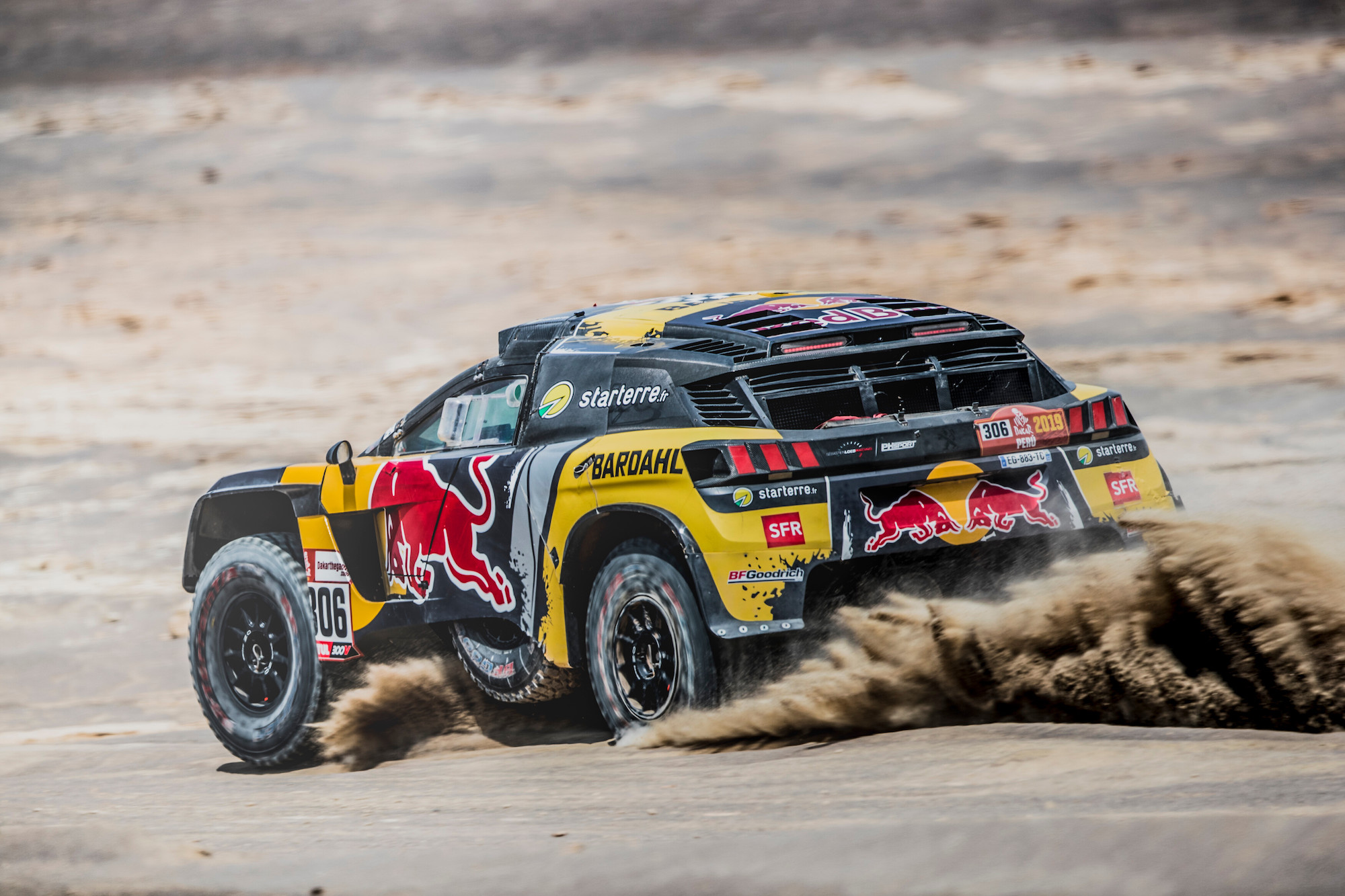 dakar rally 2019 al attiyah extends lead while price pushes through the pain barrier race. Black Bedroom Furniture Sets. Home Design Ideas
