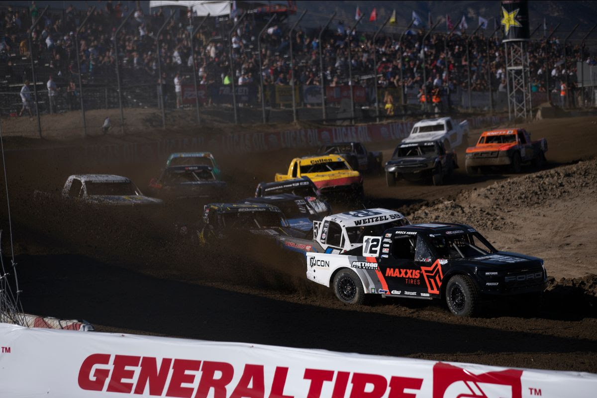 A wide open battle for the Pro Lite title will get underway this weekend. Photo: Lucas Oil Off Road Racing Series