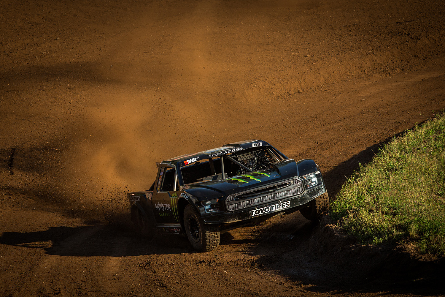 Kyle Leduc and his #99 Monster Energy / Toyo Tires / WD-40 / Ford Raptor Pro 4