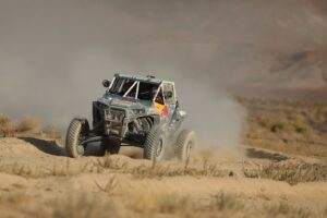 Seth Quintero on his way to winning the UTV Production Class. Photo by Harlen Foley.