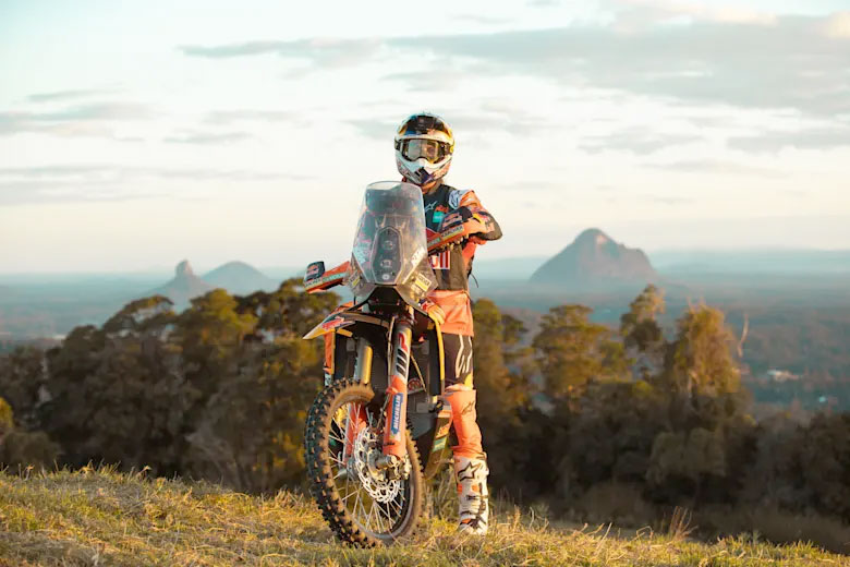 Toby Price is raring for the challenge of Dakar 2021. © Red Bull Content Pool